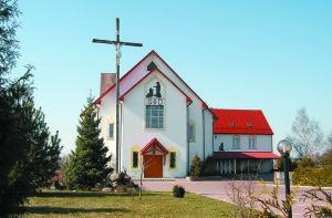Дом Святой Тройцы, дзе знаходзiцца рэдакцыя часопiса