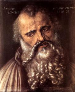 """Дюрер, Альбрехт (1471 – 1528). """"Апостол Филипп"""" (1516)."""