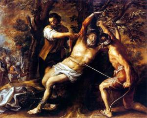 """Камило, Франсиско (1615 – 1673). """"Мученичество святого Варфоломея""""."""
