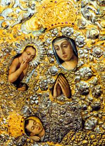 Чудотворная  икона Матери Божьей Брестской