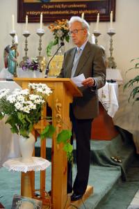 Жан  Керхнер у касцёле Ўнебаўзяцця  Найсвяцейшай Панны  Марыі
