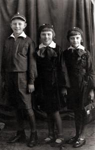 Ученики начальной школы № 2 (из архива семьи Ситкевичей)