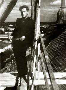 На рыштаваннях катэдры Ўнебаўзяцця Найсвяцейшай Панны Марыі ў Пінску. 60-я гады.