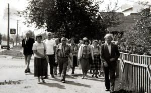 Шляхам мучаніцкай смерці св. Андрэя  Баболі.  Янаў Палескі (сёння – Іванава). Здымак 1990 г.