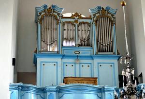 Орган Вацлава Бернацкого в костеле Успения Пресвятой Девы Марии в г. Дятлово,Гродненская область