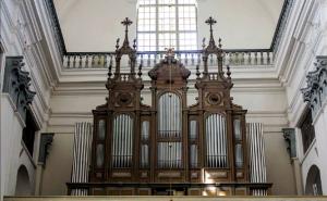 Орган Бернацких в Фарном костеле  г. Гродно