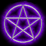 Пятиконечная звезда в круг-Ikon