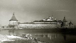 Соловецкий лагерь в 1930-х гг.