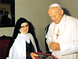 Cестра Лусия и святой Иоанн Павел II
