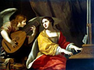 Жак Бланшар (1600 – 1638). Святая Цецилия