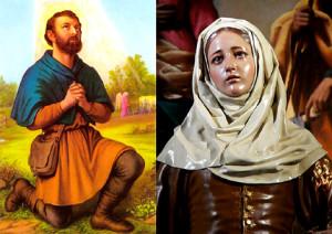 Святой Исидор Пахарь и блаженная Мария Торрибия