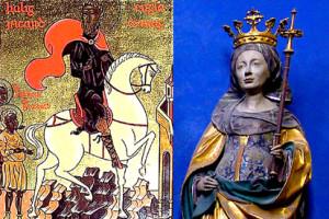 Святой Ричард Английский и блаженная Вуна