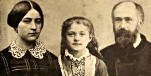 Святые  Мари-Зели Герен и Луи Мартен – родители святой Терезы Младенца Иисуса и Святого Лика.