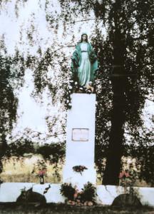 Да пачатку бягучага тысячагоддзя фігура стаяла ў  былым фальварку Роцкішкі