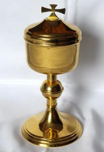Цыборыюм – літургічнае  начынне для раздавання  і захоўвання Святой  Камуніі.