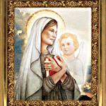 св.Франциска Римская-Ikon