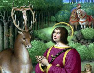 святой Хуберт