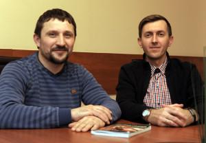 Павел Шарейко (слева) и Анатолий Канарский