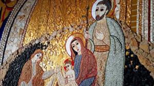 Святое Семейство. Мозаика М. Рупника